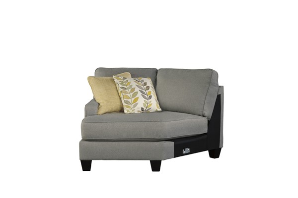 Chamberly Contemporary Alloy Wood Fabric LAF Cuddler 2430276