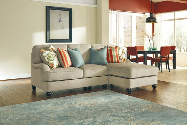 Kerridon Transitional Putty LAF Loveseat 2630055