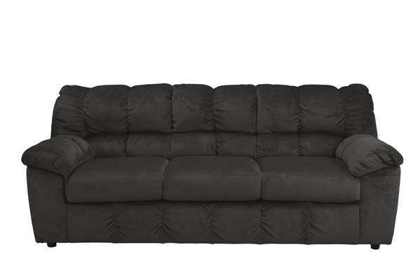 Julson Contemporary Ebony Dune Burgundy Fabric Sofas 2660038-SF-VAR