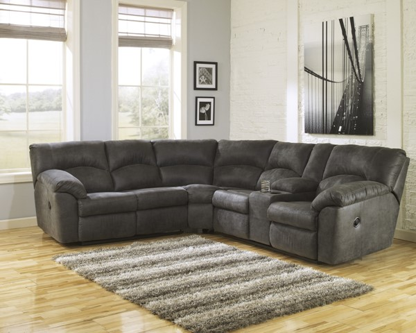 Ashley Furniture Tambo Pewter Sectional 2780148-SEC