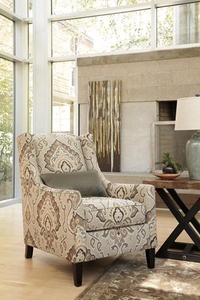 Wilcot Urbanology Fabric Recessed Arm Accent Chair 2870122