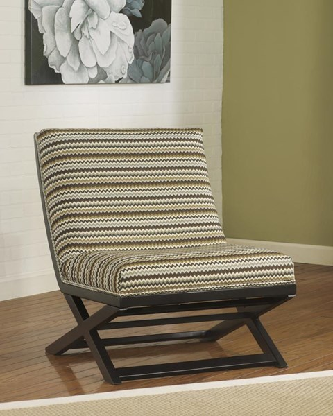 Corley Vintage Casual Wood Fabric Accent Chair 2880060