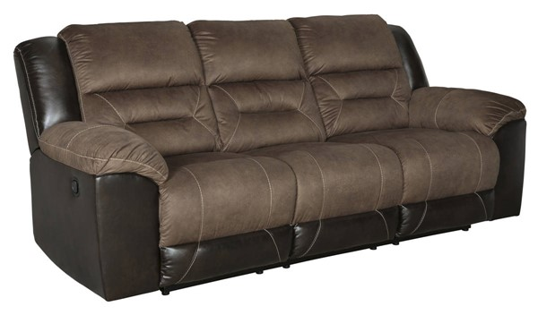 Ashley Furniture Earhart Chestnut Reclining Sofa 2910188