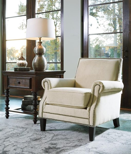 Kittredge Vintage Casual Stone Accent Chair 2970121