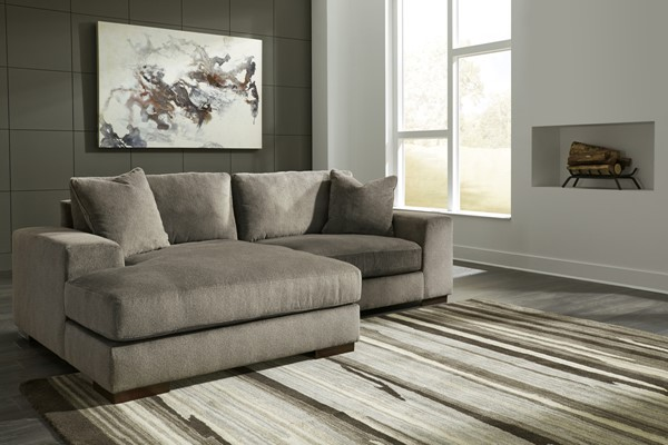 Ashley Furniture Manzani Laf Sectional The Classy Home