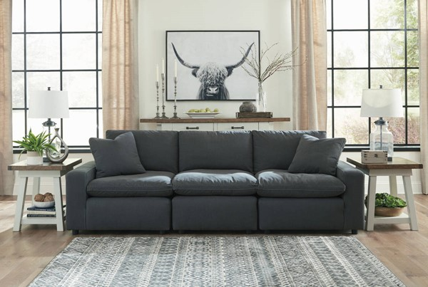 Ashley Furniture Savesto Charcoal Sofas 31104-SF-VAR