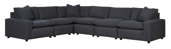 Ashley Furniture Savesto Charcoal 6pc Sectionals 31104-SEC-VAR4