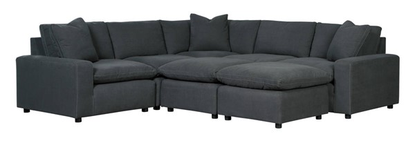 Ashley Furniture Savesto Charcoal 8pc Sectionals With Ottoman 31104-SEC-VAR5