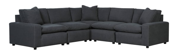 Ashley Furniture Savesto Charcoal 5pc Sectionals 31104-SEC-VAR2