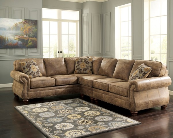 Ashley Furniture Larkinhurst 3pc Raf Loveseat And Laf Sofa