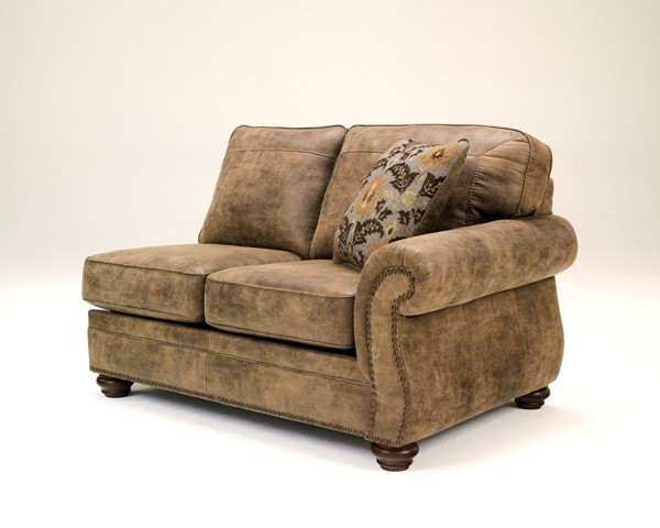 Larkinhurst Earth Polyester PU RAF Loveseat 3190156