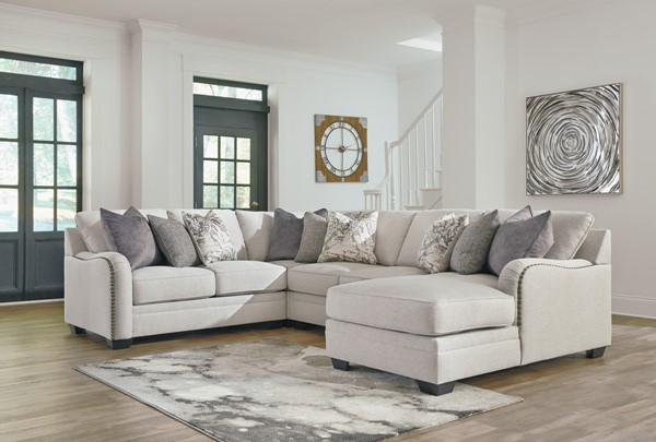 Ashley Furniture Dellara 4pc Sectional The Classy Home