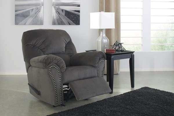 Kinlock Contemporary Charcoal Rocker Recliner 3340025