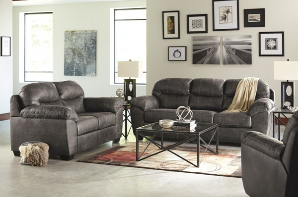 Havilyn Contemporary Charcoal 3pc Living Room Set 33705-LR-S1