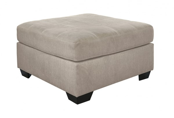 Pitkin Contemporary Pebble Fabric Wood Oversized Accent Ottomans 3490-OT-VAR