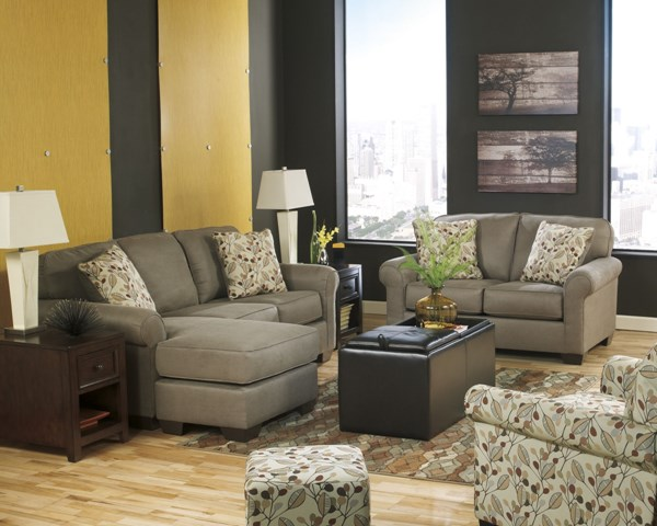 Danely Dusk Polyester 4pc Living Room Set 35500-LR-S3