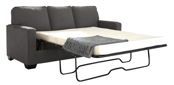 Ashley Furniture Zeb Charcoal Full Sofa Sleeper 3590136