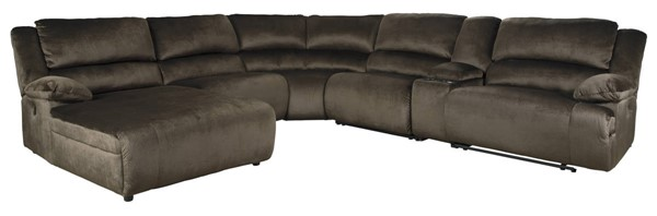 Ashley Furniture Clonmel 6pc LAF Sectionals 3650X-SEC-VAR2