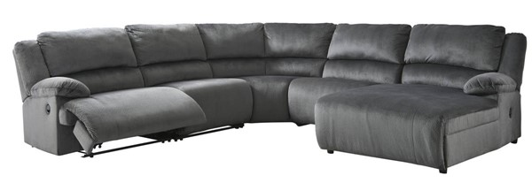 Ashley Furniture Clonmel 5pc Power RAF Sectionals 3650X-SEC-VAR10