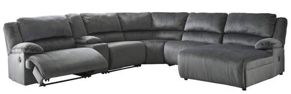 Ashley Furniture Clonmel 6pc Power RAF Sectionals 3650X-SEC-VAR9