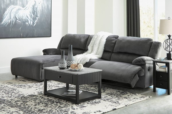 Ashley Furniture Clonmel 3pc LAF Sectionals 3650X-SEC-VAR7