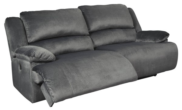 Ashley Furniture Clonmel Charcoal 2 Seat Reclining Power Sofa 3650547
