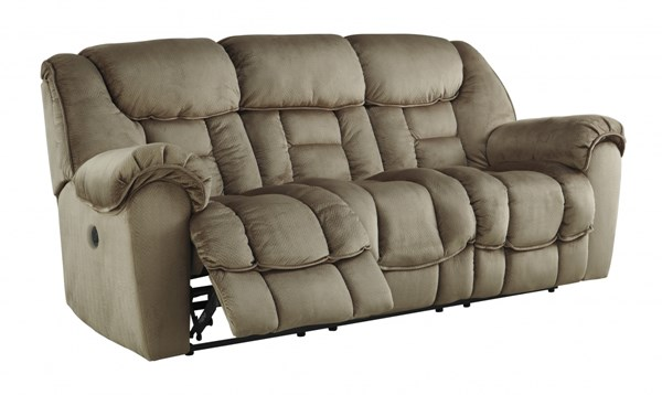 Jodoca Contemporary Driftwood Reclining Power Sofa 3660187