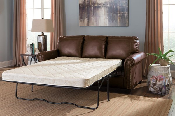 Lottie DuraBlend Contemporary Chocolate Sofa Sleepers 38000-SS-VAR