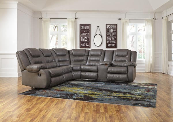 Ashley Furniture Walgast Gray Sectional The Classy Home