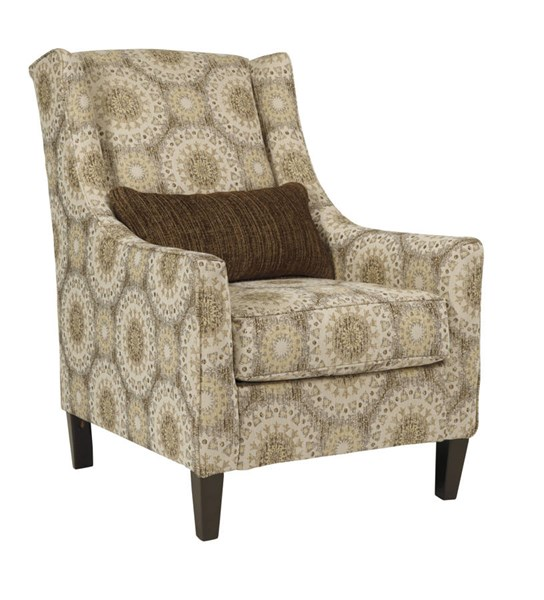 Quarry Hill Traditional Quartz Fabric Solid Wood Accent Chair 3870121