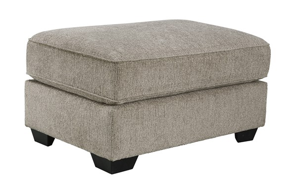 Pantomine Contemporary Driftwood Fabric Oversized Accent Ottoman 3910208
