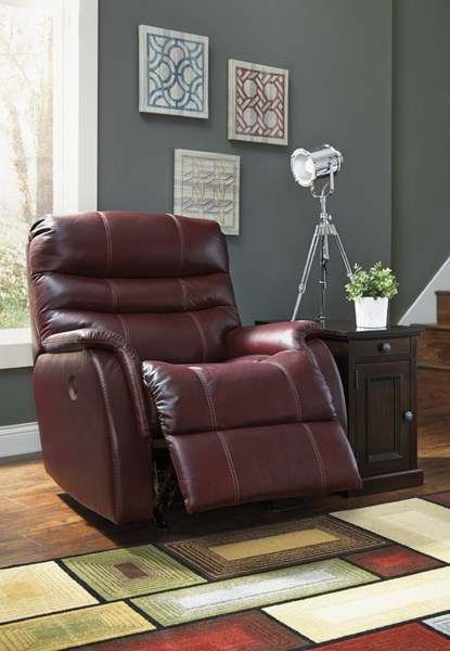 Bridger Contemporary Roma Faux Leather Power Rocker Recliner 3930198