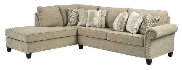 Ashley Furniture Dovemont Putty Chaise Sectionals 40401-SEC-VAR