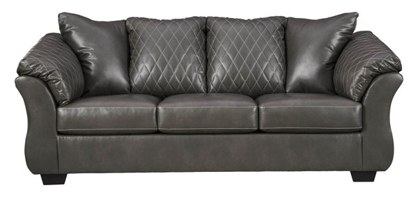 Ashley Furniture Betrillo Gray PU Sofa 4050338