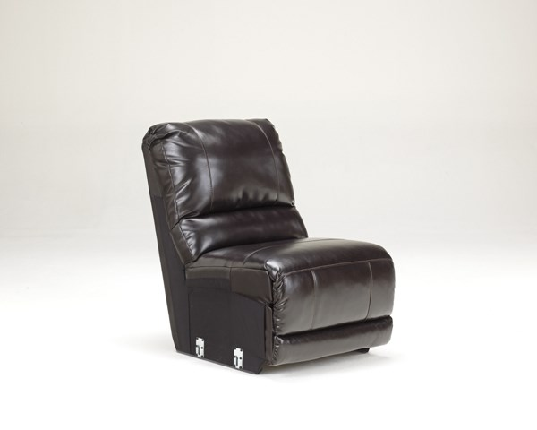 Capote DuraBlend Chocolate Armless Chair 4450046