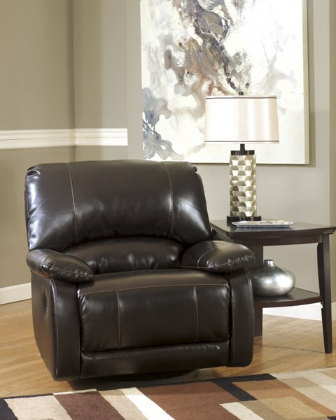Capote DuraBlend Chocolate Swivel Glider Recliner 4450061