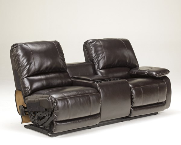 Capote DuraBlend Chocolate Raf Dbl Rec Pwr Con Loveseat 4450090