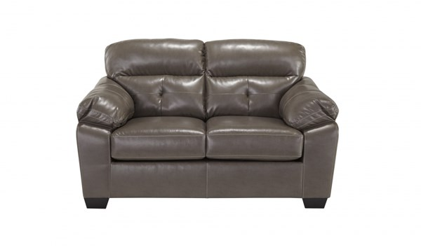 Bastrop DuraBlend Contemporary PVC Fabric Loveseat 4460035-VAR