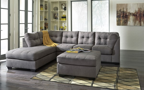Ashley Furniture Maier LAF Chaise and Ottoman Sectionals 452000-SEC3-VAR