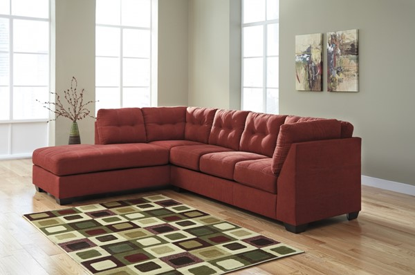 Maier Contemporary Sienna Fabric Sectional W/LAF Chaise 45202-SEC1