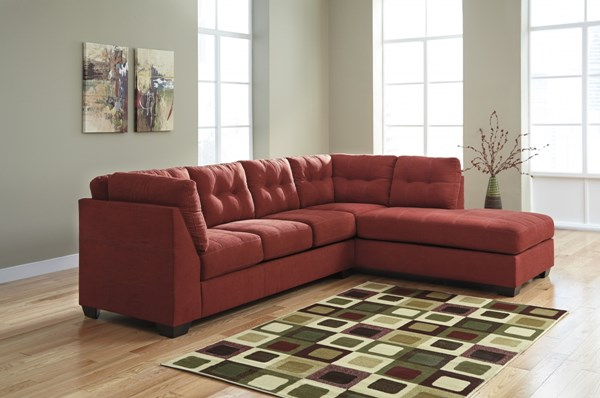 Maier Contemporary Sienna Fabric Sectional W/RAF Chaise 45202-SEC2