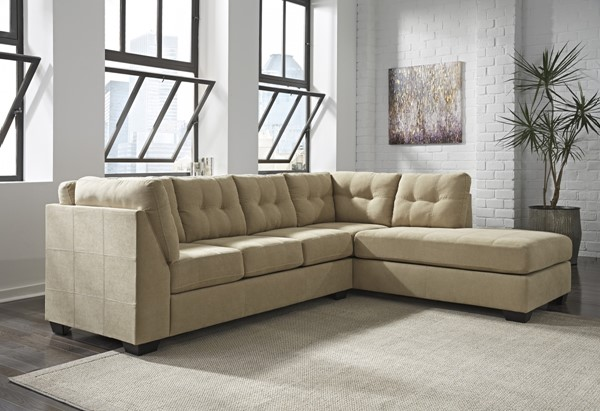 Ashley Furniture Maier Cocoa Raf Chaise Sectional The