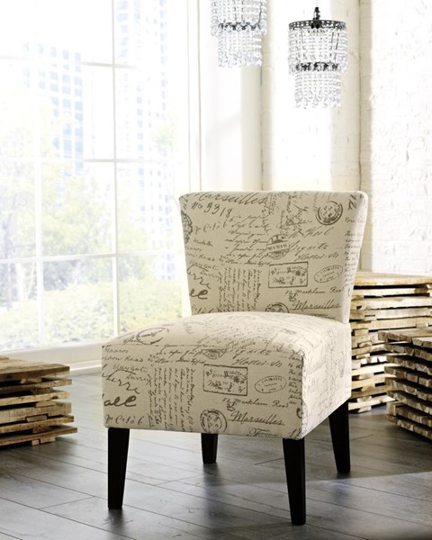 Ashley Furniture Ravity Taupe Accent Chair The Classy Home