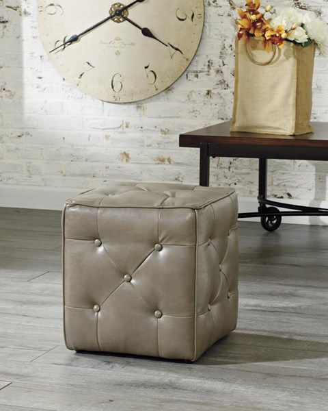 Jive Transitional Polyester Accent Ottoman 4740213
