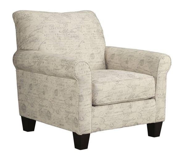 Baveria Transitional Gray Cushion Back Accent Chairs 4760020-CH-VAR