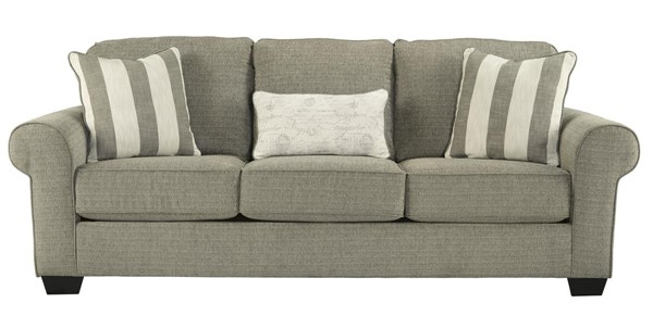 Baveria Transitional Fog Pillow Back Sofa 4760038