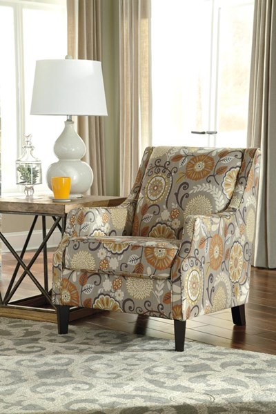 Tailya Transitional Espresso Accent Chair 4770021