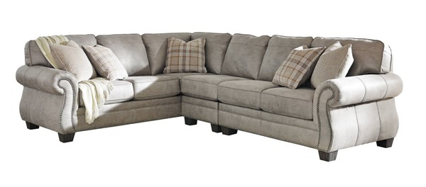 Ashley Furniture Olsberg Steel 3pc RAF Sectional 48701-SEC3