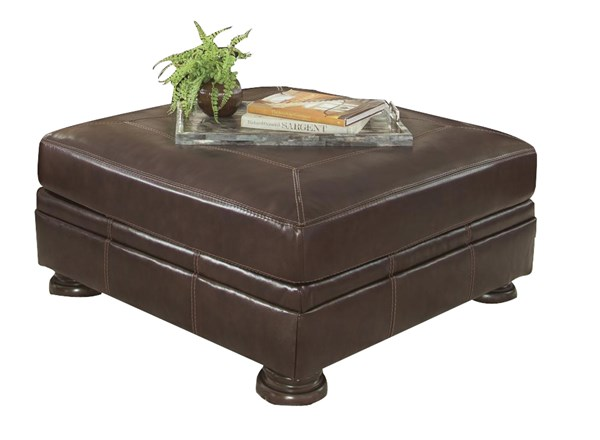 Banner Traditional Classics Coffee Oversized Accent Ottoman 5040408