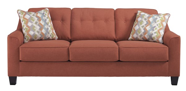 Ashley Furniture Menga Rust Sofa The Classy Home